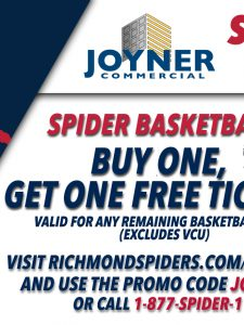 Special Offer! Buy One Get One Free Basketball Tickets