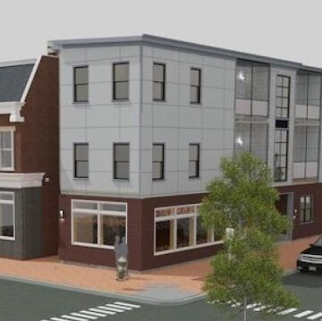 Building rehab, mixed-use expansion to fill out corner property in Church Hill
